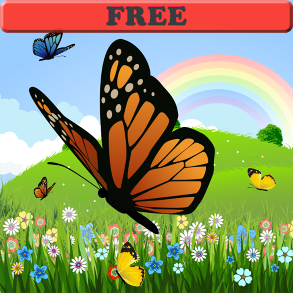 Coloring Book: Butterfly ! FREE Coloring Pages for Toddlers