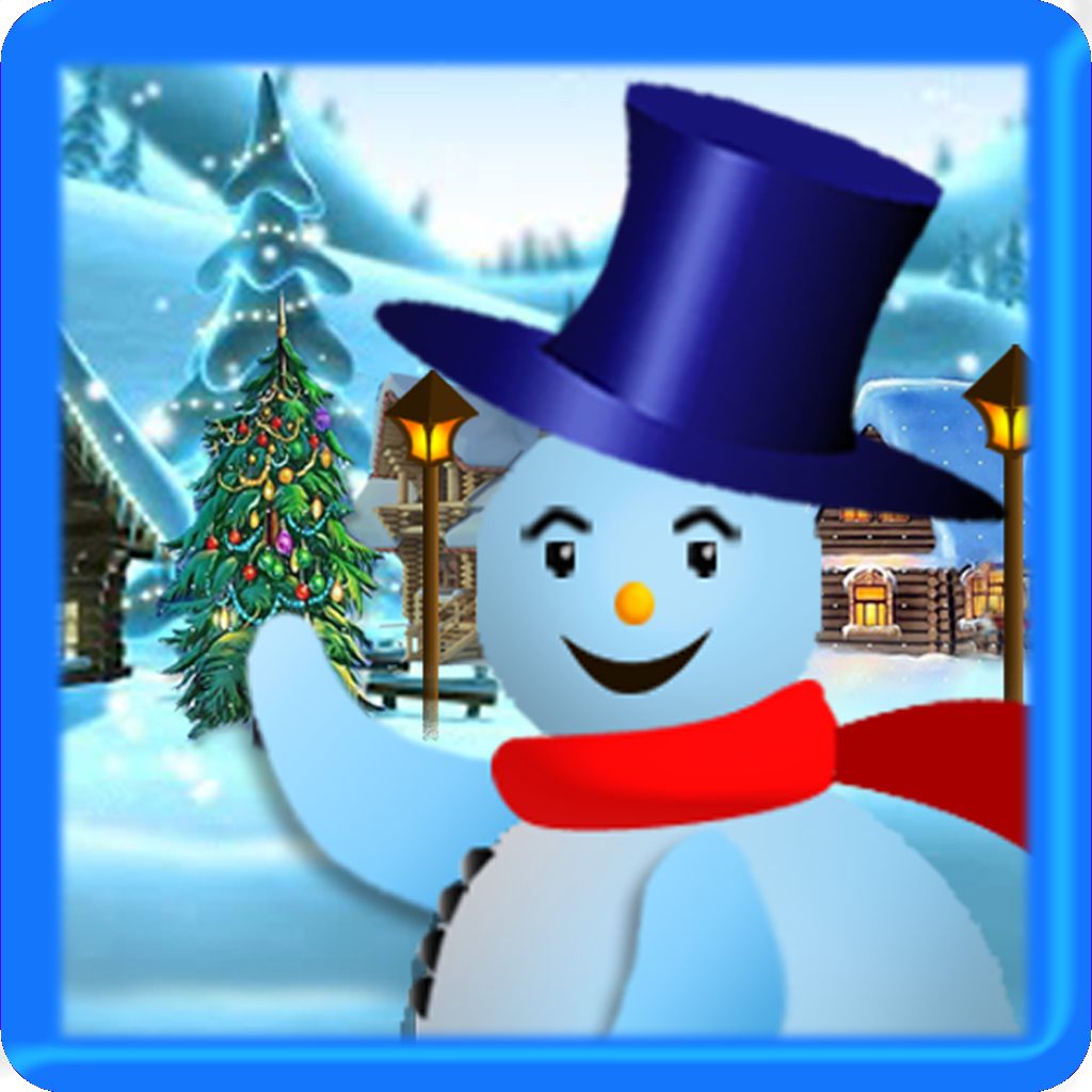 Frosty Snowman Christmas Run: The best adventure game for the starfall holiday kids